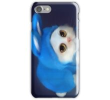 Blue Cat Iphone Case iPhone Case/Skin