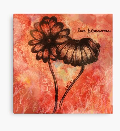 Love Blossoms Canvas Print