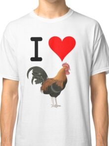 I Love Cock Classic T-Shirt