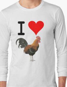 I Love Cock Long Sleeve T-Shirt