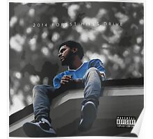 J.Cole 2014 Forest Hills Drive Poster