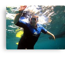 Fun Under the Sea! Canvas Print
