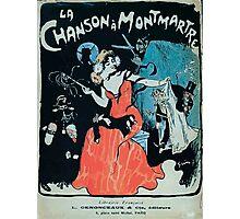 Jules Alexandre Grün La Chanson à Montmartre 1902 Photographic Print
