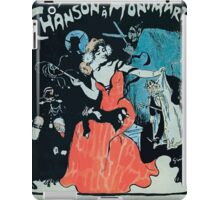 Jules Alexandre Grün La Chanson à Montmartre 1902 iPad Case/Skin