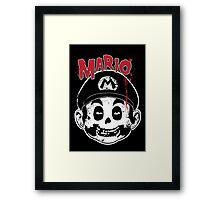 Mario Fiend Framed Print