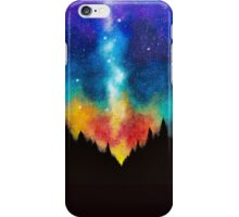 Rainbow Forest - Space Skylight iPhone Case/Skin