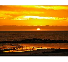 Sunset Bar view Photographic Print