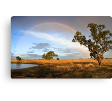 Rainbow Hour Canvas Print