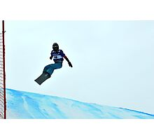 snowboard world cup Photographic Print