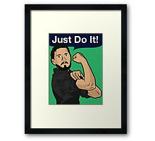 We Can Just Do It! Framed Print
