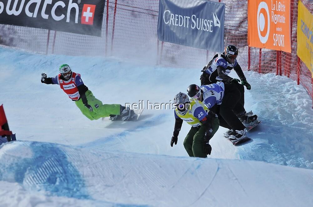 snowboard cross world cup by neil harrison