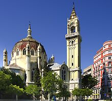San Manuel and San Benito, Madrid by Ian Fegent