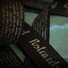 Secret Postcards Blues - feuillets noirs #1 by Pascale Baud