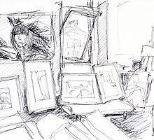 Artist's Workstudio by Artistuk