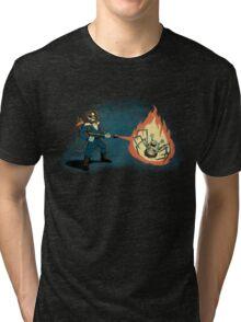 KILL IT WITH FIRE Tri-blend T-Shirt
