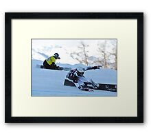giant parallel world cup Framed Print