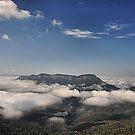MT SOLITARY - BLUE MOUNTAINS AUSTRALIA by Bev Woodman