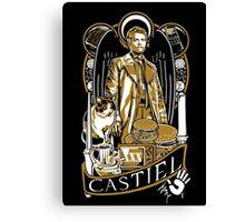 Castiel Nouveau Canvas Print