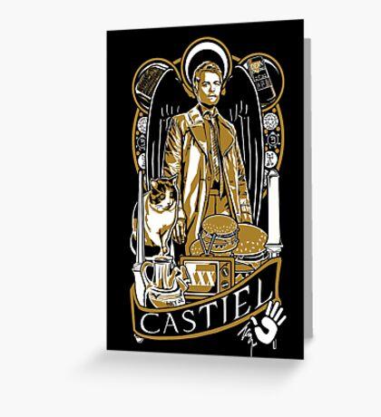 Castiel Nouveau Greeting Card