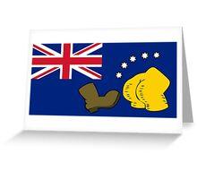 New Australia Flag Greeting Card