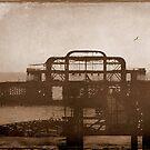 West Pier-UK ...Au revoir mémoire © by Dawn Becker