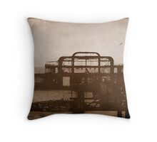 West Pier-UK ...Au revoir mémoire © Throw Pillow