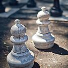 Pair of pawns by Adriano Carrideo