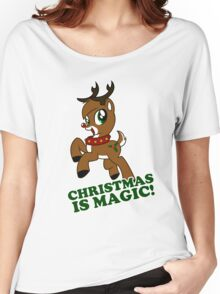 Christmas Is Magic Women's Relaxed Fit T-Shirt