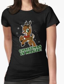 Christmas Is Magic Womens Fitted T-Shirt