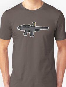 Gundam Beam Rifle Line Art T-Shirt