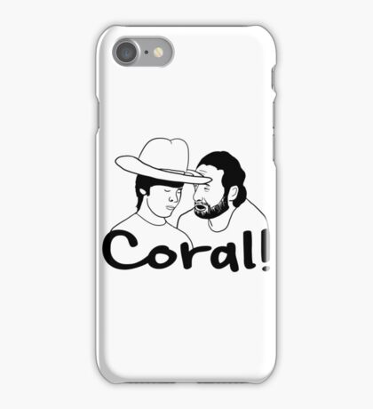 The Walking Dead- Coral iPhone Case/Skin