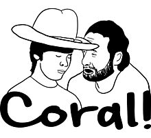 The Walking Dead- Coral Photographic Print