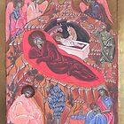 Icona della Natività by Margherita Bientinesi