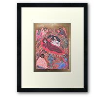 Icona della Natività Framed Print