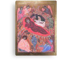 Icona della Natività Canvas Print
