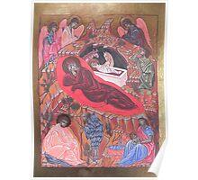 Icona della Natività Poster