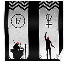 Tyler Joseph and Josh Dun Concert Poster