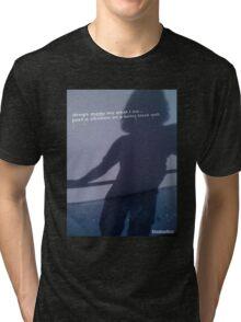 ShadowMan© Drugs Tri-blend T-Shirt