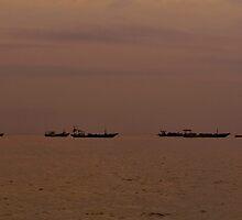 Sengigi Fishing Bay - Lombok, Indonesia by kaledyson