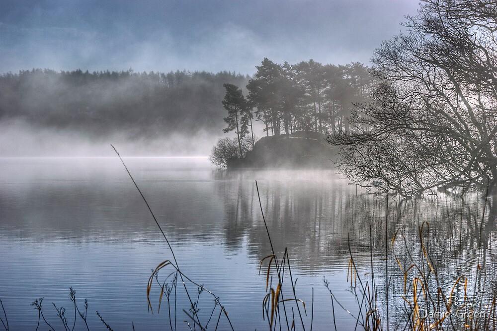 Windermere ...March Mist by Jamie  Green