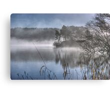 Windermere ...March Mist Canvas Print