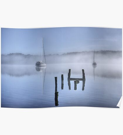 The Old Jetty On Windermere Poster