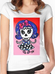 Drop Dead Dolly Women's Fitted Scoop T-Shirt