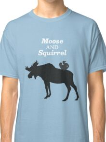 Supernatural Moose and Squirrel  Classic T-Shirt