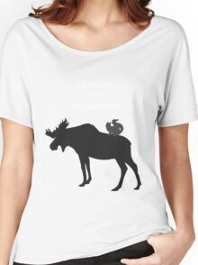 Supernatural Moose and Squirrel  Women's Relaxed Fit T-Shirt