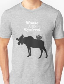Supernatural Moose and Squirrel  T-Shirt