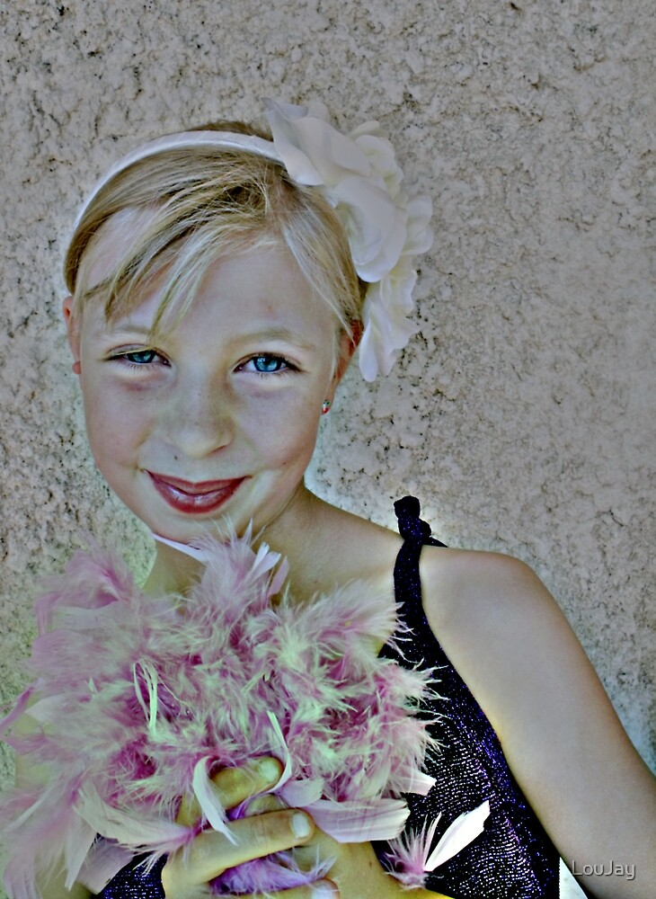 Flowers and Feathers by LouJay