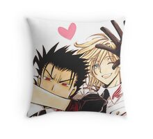 KuroFai Throw Pillow