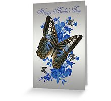 Mother's Day Card With Butterflies Greeting Card