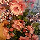 Roses and Lilacs by Cathy Amendola